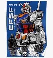 Póster Gundam