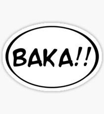 Baka!! Sticker