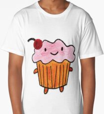 Happy Cupcake Long T-Shirt