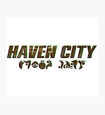Haven City Photographic Print