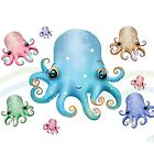 Rainbow Octopus by © Karin Taylor