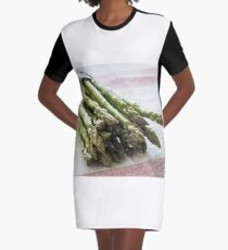 Asparagus Graphic T-Shirt Dress