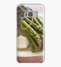 Asparagus and Garlic Samsung Galaxy Case/Skin