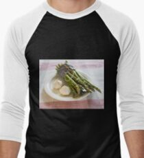 Asparagus and Garlic Men's Baseball ¾ T-Shirt