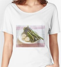 Asparagus and Garlic Women's Relaxed Fit T-Shirt