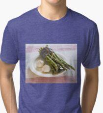 Asparagus and Garlic Tri-blend T-Shirt