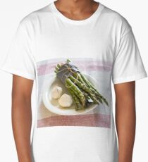 Asparagus and Garlic Long T-Shirt