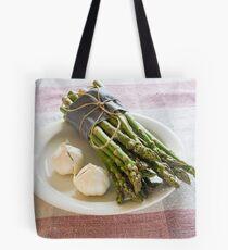 Asparagus and Garlic Tote Bag