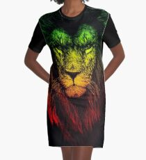 Reggae Lion Robe t-shirt