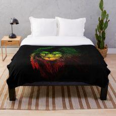 Reggae Lion Fleecedecke