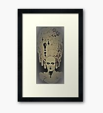 MARIE ANTOINETTE MANNEQUIN by Jacqueline Mcculloch  for House of Harlequin Framed Print