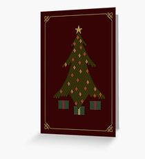 Quilted Christmas Greeting Card
