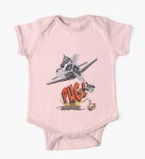 Cute Pilot Pug Dog   Kids Clothes