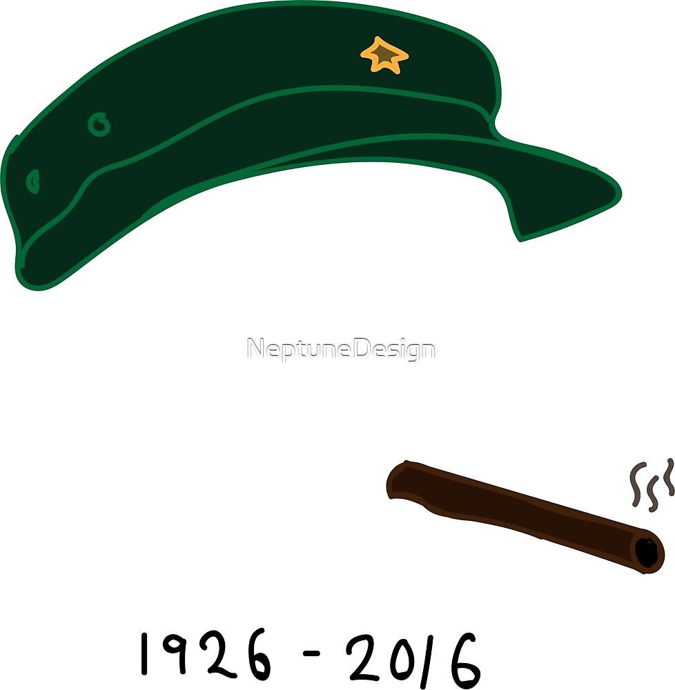 Fidel Castro Tribute: 1926 - 2016 by NeptuneDesign