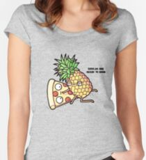 Shhh No one needs to know! Women's Fitted Scoop T-Shirt