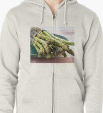 Asparagus Zipped Hoodie