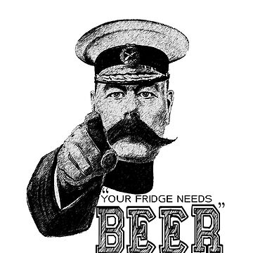 Your Fridge Needs Beer by GMG-Designs
