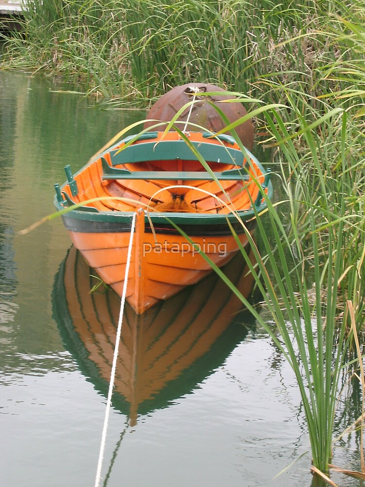 Orange Boat by patapping