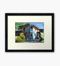 Treva's House Framed Print
