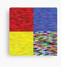 multicolored backgrounds Canvas Print