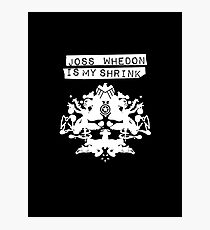 """Joss Whedon Is My Shrink"" - Light Photographic Print"