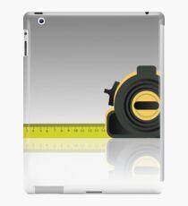 steel tape ruler iPad Case/Skin