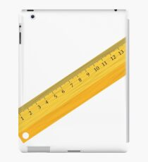 wooben ruler iPad Case/Skin