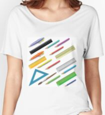 Office Supplies Womenu0027s Relaxed Fit T Shirt