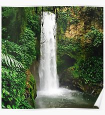 Waterfall Tranquility Poster