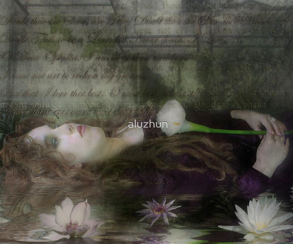 Ophelia by aluzhun