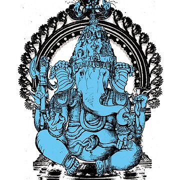 Lord Ganesha Hindu Elephant headed God by scottallison
