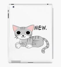Mew iPad Case/Skin