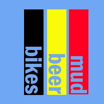 Mud, Beer, Bikes by fludvd