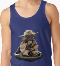 Yoda Pug Star Wars Tee Tank Top