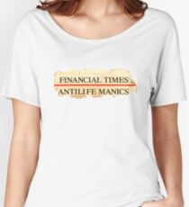 Antilife Manics Anagram Women's Relaxed Fit T-Shirt