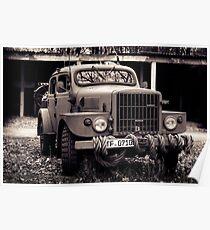 classic car, military car Poster