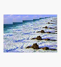 Infinity Sea Photographic Print