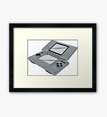 Video Game Inspired Console Nintendo DS Framed Print