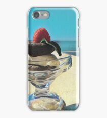 Sundays in the Pool iPhone Case/Skin