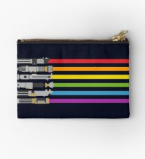 Lightsaber Rainbow Studio Pouch