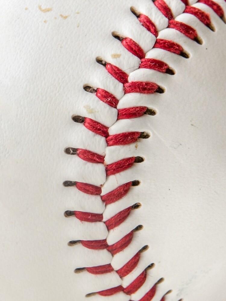 Worn Baseball by mrdoomits