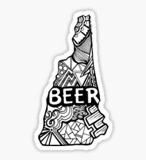 nh_beer Sticker