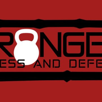 Granger Fitness and Defense Black with White KB by johngranger