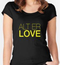 Skam- Alt Er Love- EVAK Women's Fitted Scoop T-Shirt