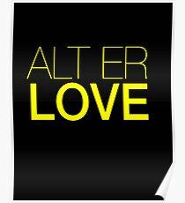 Skam- Alt Er Love- EVAK Poster