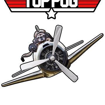 Top Pug  by Bubolina