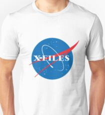 X-Files NASA Logo T-Shirt