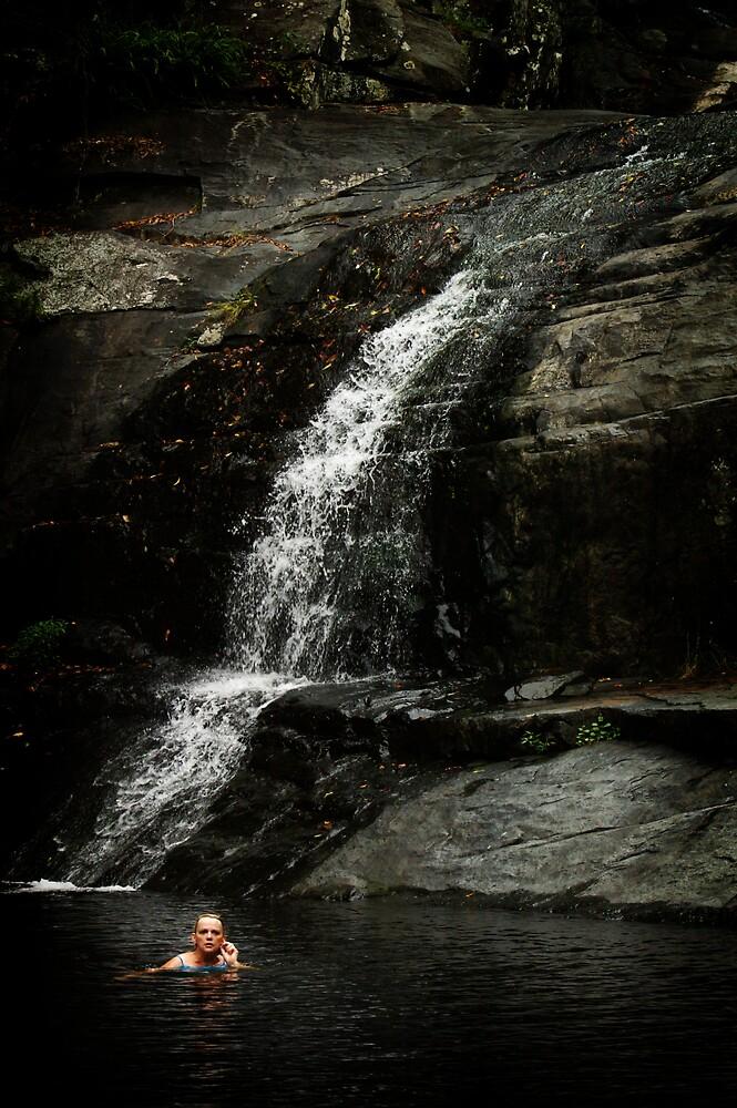 CEDAR CREEK WATERFALL by BYRON