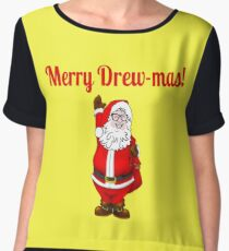 TV Game Show - TPIR (The Price Is...) Merry Drew-mas 2 Chiffon Top