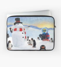 'Snow Way You Made That Laptop Sleeve